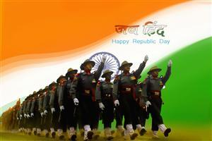 Jay Hind Happy Republic Day Wallpaper