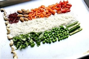 Republic Day Indian Vegetables Flag Wallpapers