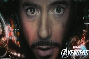 Robert Downey in Movie The Avengers