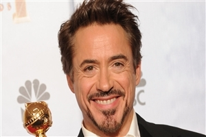 Robert Downey with Award Pics