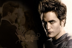 Dasing and Smart Look of Robert Pattison English Film Actorin Twilight Wallpaper