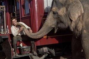 Robert Pattison with Elephant