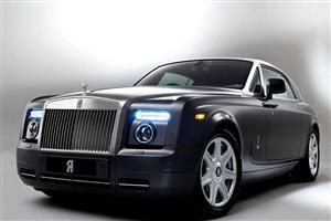 Black Car Rolls Royce Phantom
