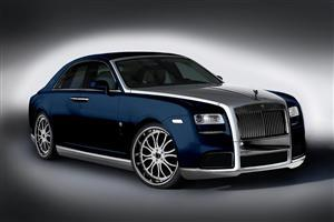 Blue Silver Rolls Royce Car Wallpapers