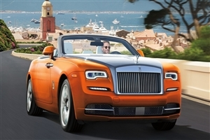 Latest 2018 Rolls Royce Dawn Car