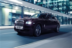Latest New Rolls Royce Ghost 2015 Car on Road HD Photo