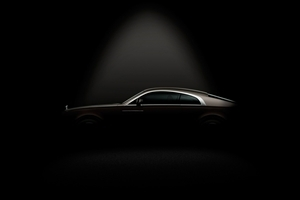 Rolls Royce Car Black Background Wallpaper