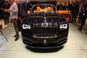 Rolls Royce Car in Exhibition Photo