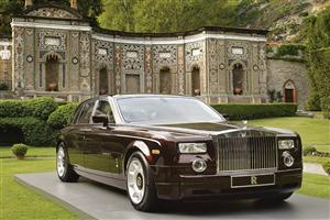 Rolls Royce Phantom Black Mansion Car