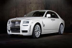 White Rolls Royce Phantom Wallpaper