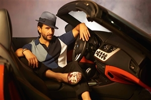 Saif Ali Khan in Car Photo