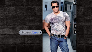 Salman Khan Best Actor of India Wallpaper