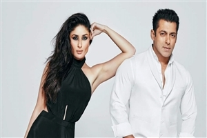 Salman Khan and Kareena Kapoor Bollywood Star Photo