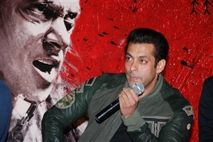 Salman Khan at Jai Ho 2014 Bollywood Film Launch Trailer Wallpaper
