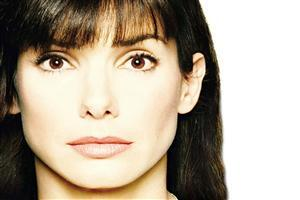Beautiful Face of Sandra Bullock