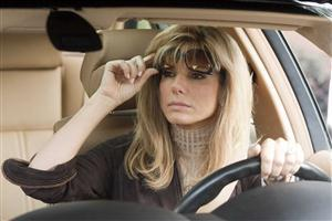 Sandra Bullock in Car