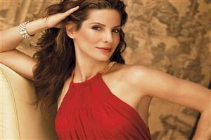 Sandra Bullock in Red Top