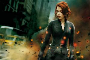 The Avengers Black Widow Wallpaper