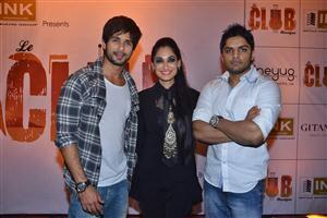 Shahid Kapoor at Le Club Music