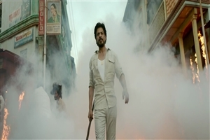 Bollywood Actor Shah Rukh Khan in Hindi Movie Raees HD Wallpapers
