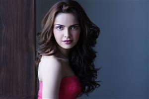 Shazahn Padamsee in Pink Dress and Pink Lips