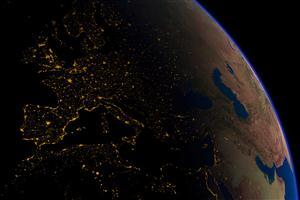 Night Look of Earth