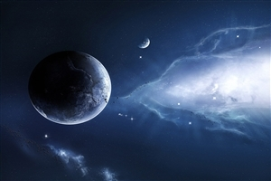 Planet Space Universe Fantacy Wallpaper