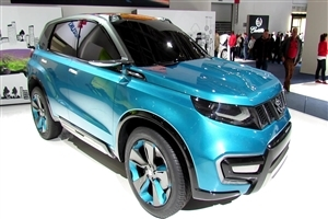 New Car Suzuki 2015 Vitara Blue Color HD Wallpapers