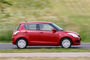 Red Suzuki Swift Car Wallpaper