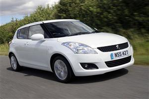 Suzuki Swift 2011White Car Wallpaper