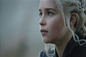 Emilia Clarke in Game of Thrones Season 7 TV Series HD Photo