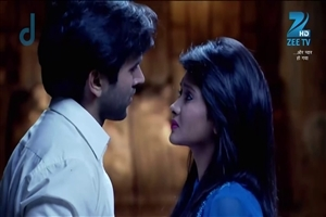 Kaanchi Singh as Avni and Mishkat Verma as Raaj in Aur Pyaar Ho Gaya TV Serial HD Wallpaper