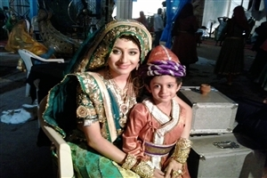 Paridhi Sharma as Time of Shooting Jodha Akbar Hindi TV Serial Wallpapers