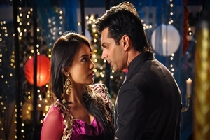 Qubool Hai Star Cast Surbhi Jyoti and Karan Singh Grover in Hindi TV Serial Photos