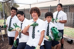 Star Cast Wallpaper of Jonah from Tonga Popular Australian TV Series