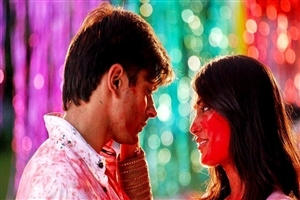 Zoya and Asad Ahmed with Colors in Qubool Hai Hindi TV Serial Wallpapers