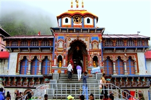 Badrinath Temple Wallpaper