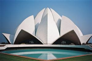 Beautiful Lotus Temple