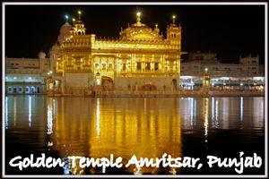 Golden Temple Look in Night
