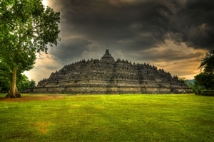Indonesia Temple Borobudur Photo