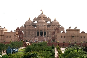 Lord Swaminarayan Akshardham Temple in Delhi