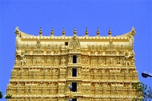 Padmanabha Temple in South India Wallpaper