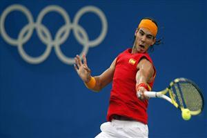 Rafael Nadal Men Singles Tennis Match in Olympic