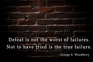 Beautiful Quote on Failures HD Wallpapers