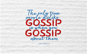 Best Quote on Gossip 4K Pics