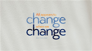 Good Thought on Change Wallpaper