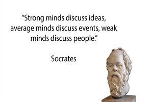 Good Thoughts of Socrates HD Images