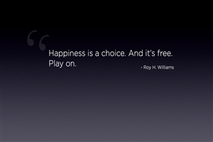 Nice Quote on Happiness HD Wallpaper Background