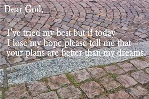 Quote on Pray God Wallpaper