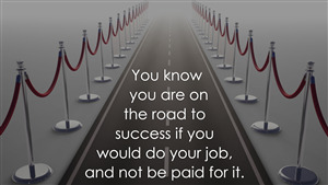 Surpassing Thoughts on Road to Success HD Photo